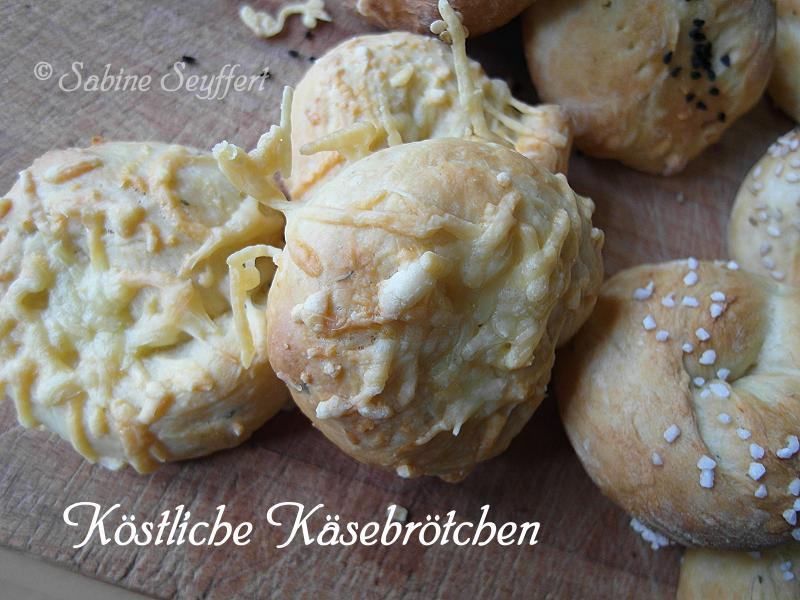 Dreierlei Brot Käse