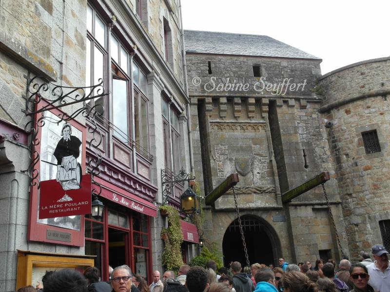 Mont St Michel Eingang