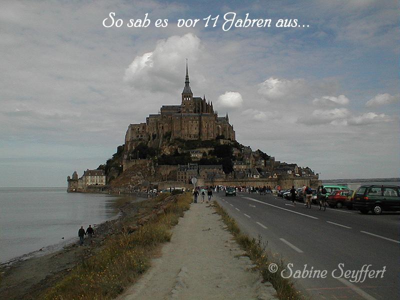 Mont St Michel damals