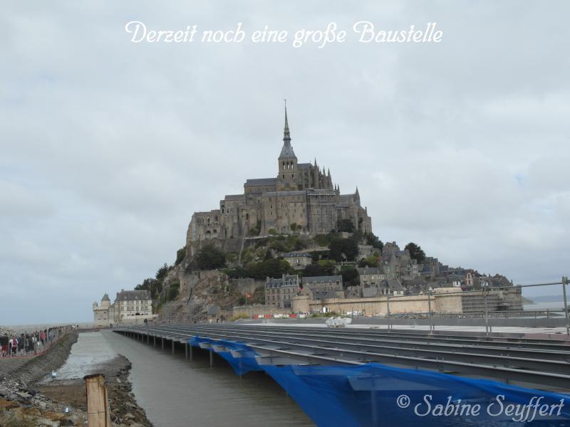 Mont St Michel heute