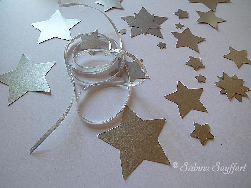 Sternenkette silber 1
