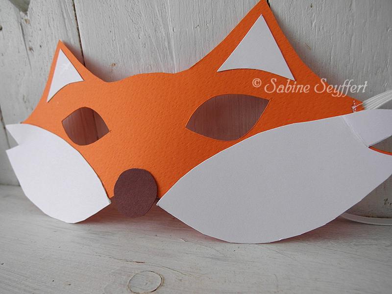 Fuchsgeburtstag: Tiermasken DIY für kleine Partyfüchse ...