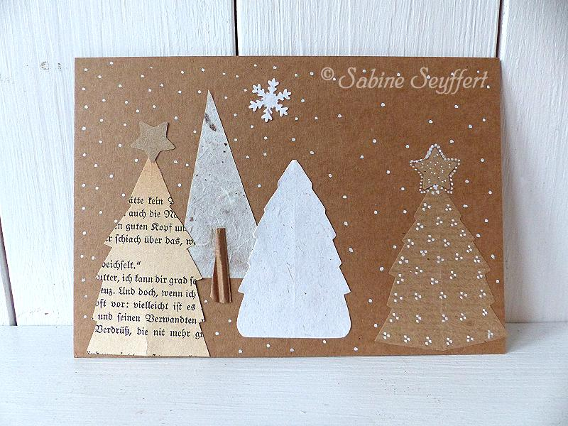 diy weihnachtspost stilvolle weihnachtskarten und gr e. Black Bedroom Furniture Sets. Home Design Ideas