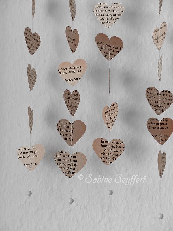 Kleiderbügel Herz