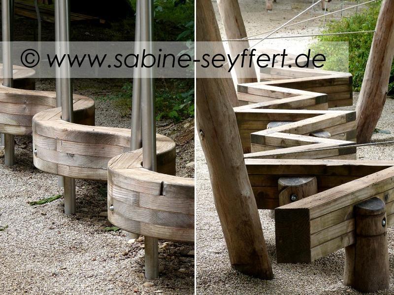 Auflug Schloss Thurn Holzmotorik Pfad klein