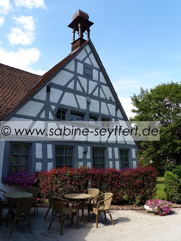 Auflug Schloss Thurn Sitzplatz