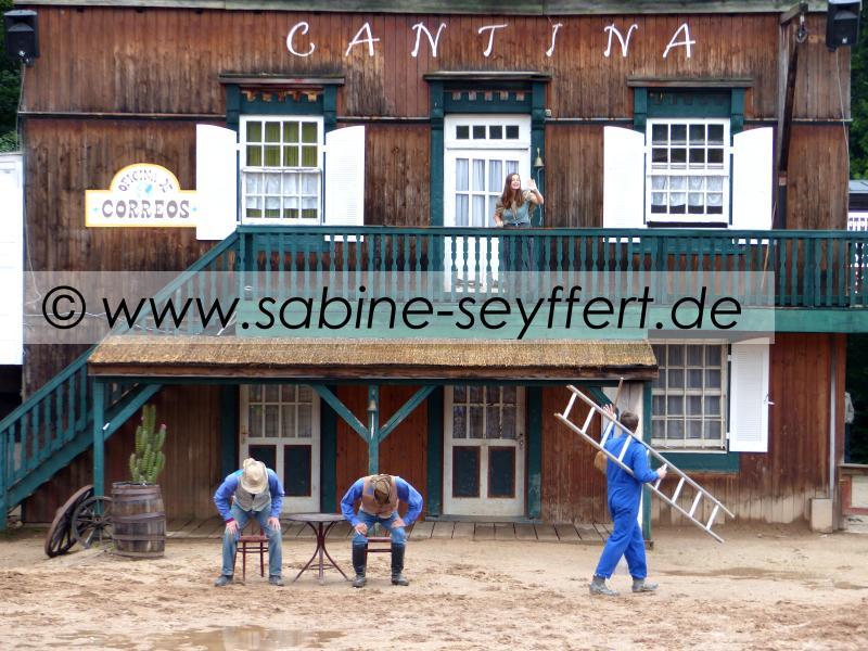 Auflug Schloss Thurn Western Show