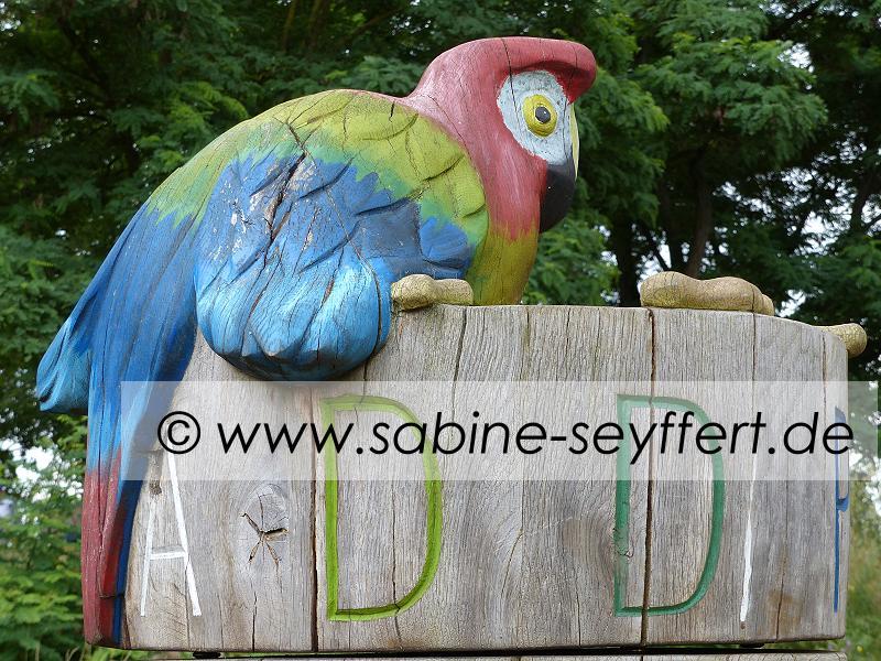 Ausflug Sams Spielplatz Papagei