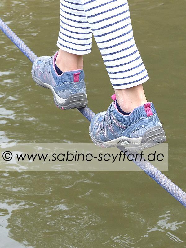 Ausflug Wasser Seil