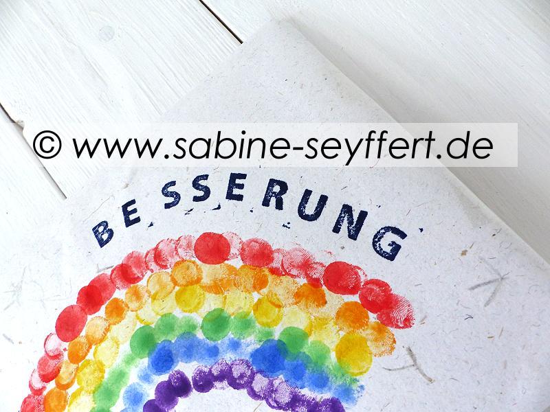 gute besserung eine klitzekleine geschenkidee zur aufmunterung nett verpackt blog sabine seyffert. Black Bedroom Furniture Sets. Home Design Ideas