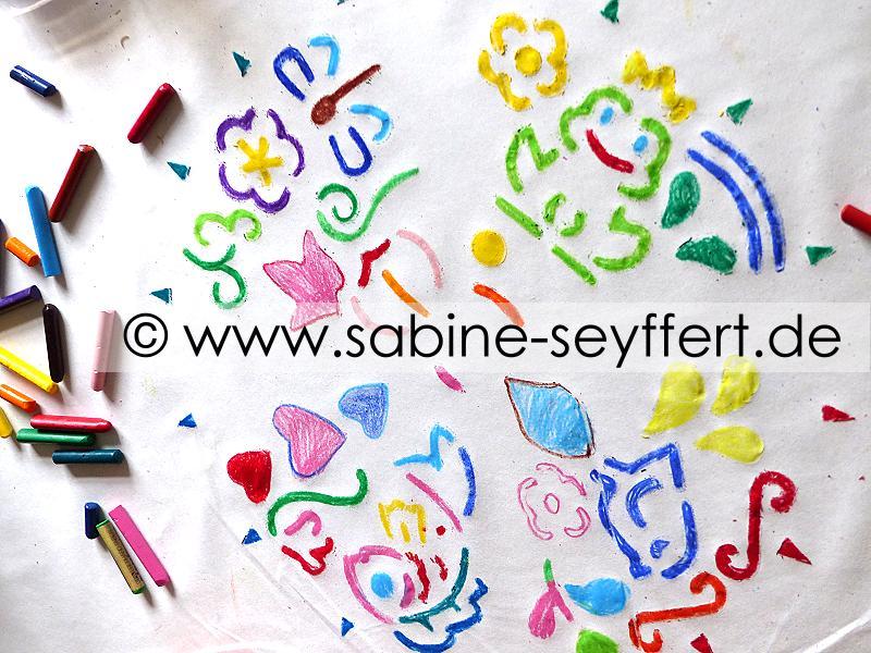 Kreative Beschäftigungsidee Für Kinder Die Gerne Malen Etwas