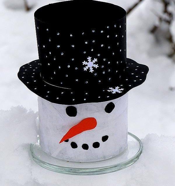Weil gerade Winter ist gibt es heute noch einen Schneemannhellip