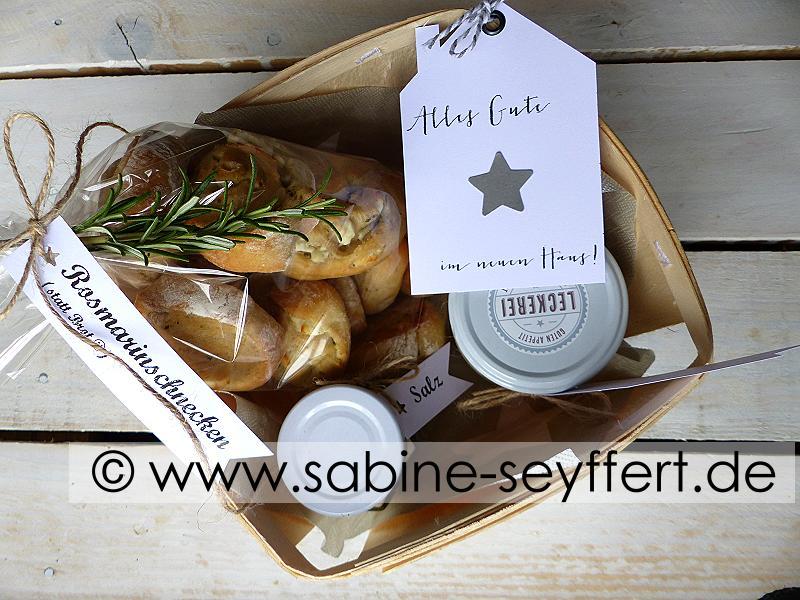 Geschenkidee Zum Einzug Willkommen Im Neuen Heim Brot