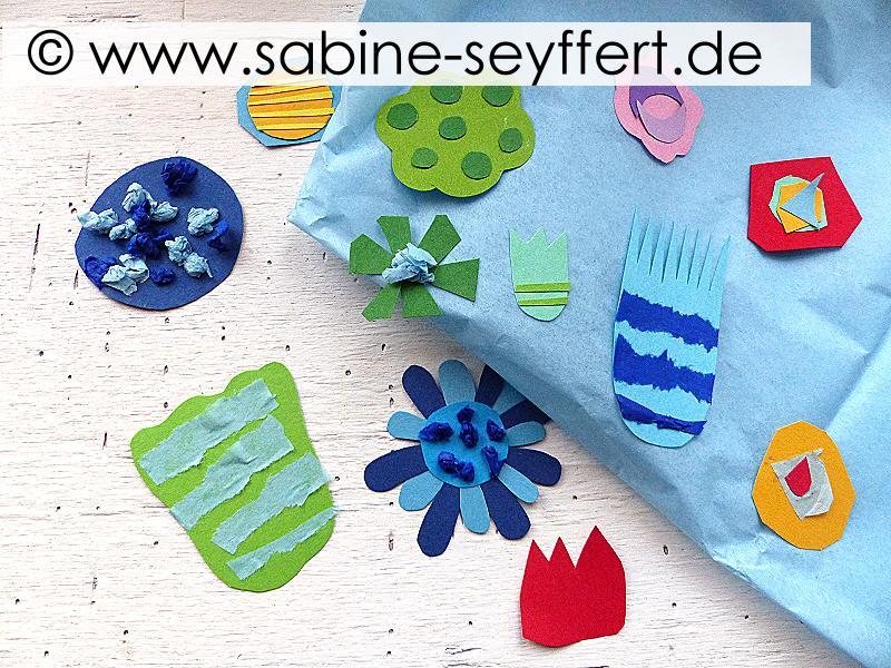 Diy Basteln Mit Kindern Wir Basteln Bunte Blumen Frühling