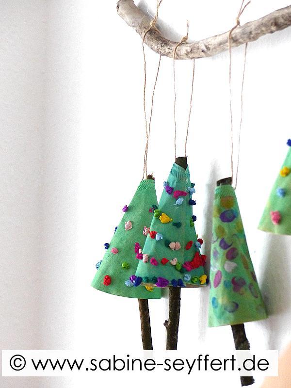 Diy Mit Kindern Weihnachtsgeschenke Basteln Weihnachtsbaum